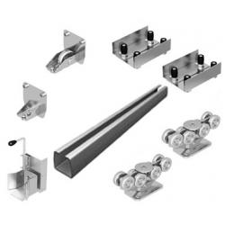 Система роликов и направляющих для балки х/к 71х60х3,5 L=6240мм