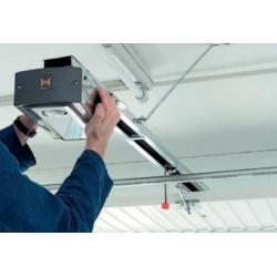 Монтаж привода потолочного